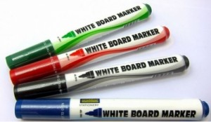 SUREMARK WHITEBOARD MARKER MODEL NO: - COLOURS: RED, BLUE, GREEN, BLACK                                                          PRICE:$0.50 NOTE: PLEASE NOTE THAT IMAGE SHOWN ARE FOR ILLUSTRATION PURPOSE ONLY. ***PRICES ARE SUBJECT TO CHANGE WITHOUT PRIOR NOTICE***