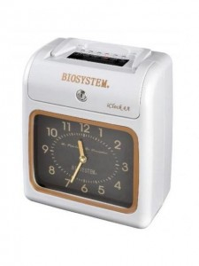 FACTORY TIME CLOCK iClock 4D (OFFICE USE) MODEL NO:BIOSYSTEM iClock 4D FEATURES: MELODY& EXTERNAL ALARM FULLY AUTO SILENT PRINTING BATTERY OR ELECTRIC OPERATE 2 COLOURS PRINT INDICATION OF IRREGULAR PUNCH FULL UPS BACK-UP BATTERY 6 COLUMNS CARD PRINTING PRICE:PLEASE ENQUIRE SIZE: Q193 x H244 x D123 mm(3KG) NOTE: PLEASE NOTE THAT IMAGE SHOWN ARE FOR ILLUSTRATION PURPOSE ONLY. ***PRICES ARE SUBJECT TO CHANGE WITHOUT PRIOR NOTICE***