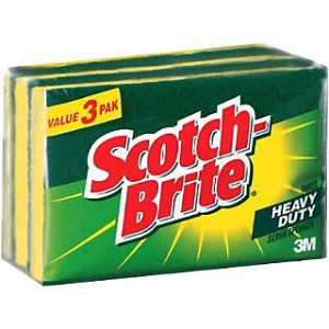 3M SCOITCH BRITE SPONGE WITH SCRUBBER                                                   PRICE:PLEASE ENQUIRE NOTE: PLEASE NOTE THAT IMAGE SHOWN ARE FOR ILLUSTRATION PURPOSE ONLY. ***PRICES ARE SUBJECT TO CHANGE WITHOUT PRIOR NOTICE***