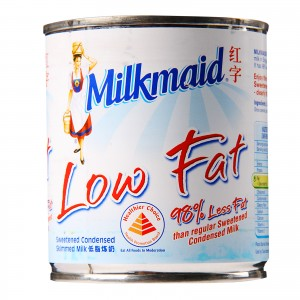 MILKMAID(LOW FAT) CONDENSED MILK                                                  PRICE:PLEASE ENQUIRE NOTE: PLEASE NOTE THAT IMAGE SHOWN ARE FOR ILLUSTRATION PURPOSE ONLY. ***PRICES ARE SUBJECT TO CHANGE WITHOUT PRIOR NOTICE***
