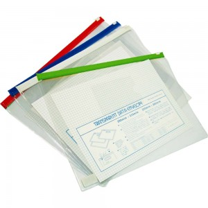 PVC CLEAR DATA ENVELOPE MODEL : T57 (B4) T57-1 (A4) T57-2 (B5) T57-3 (A5)