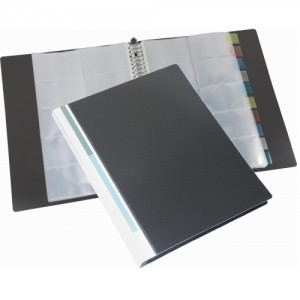 BUSINESS CARD FILE (REFILLABLE)  MODEL : W30981I(WITH 10 INDEX TABS-500CARDS) REFILL IS AVAILABLE TOO.