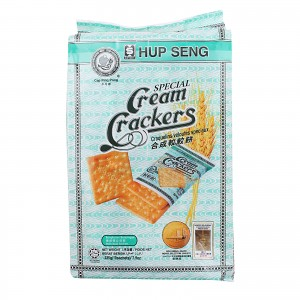HUP SENG CREAM CRACKERS                                                  PRICE:PLEASE ENQUIRE NOTE: PLEASE NOTE THAT IMAGE SHOWN ARE FOR ILLUSTRATION PURPOSE ONLY. ***PRICES ARE SUBJECT TO CHANGE WITHOUT PRIOR NOTICE***