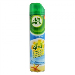 AIR WICK 4-IN-1 AEROSOL AIR REFRESHENER SPRAY AQUA MARINE                                                  PRICE:PLEASE ENQUIRE NOTE: PLEASE NOTE THAT IMAGE SHOWN ARE FOR ILLUSTRATION PURPOSE ONLY. ***PRICES ARE SUBJECT TO CHANGE WITHOUT PRIOR NOTICE***