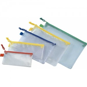 SOFT MESH CASE -ASSORTED COLOURS AND SIZES