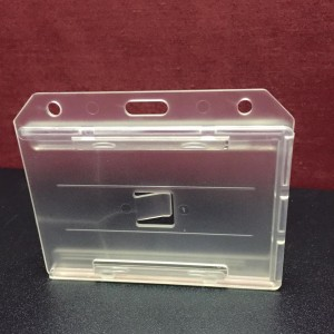 COSMO HARD TYPE CARD CASE (H) SPECS: WHITE(TRANSLUCENT) 2-SIDED  MODEL: PH-75