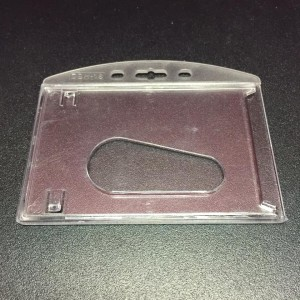 TRANSPARENT HARD TYPE CARD CASE (H) MODEL: DBH-18