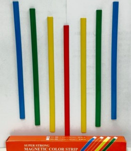 FLEXI SUPER STRONG MAGNETIC STRIP COLOURS: RED BLUE GREEN YELLOW MODEL: MS-200 SIZE: (9 X 200 mm) **SELLING BY PER PIECE.