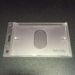 COSMO HARD TYPE CARD CASE (V) SPECS: WHITE(TRANSLUCENT) 1-SIDED  MODEL: PH-65E