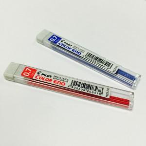 PILOT  MODEL: COLOR ENO SIZE: 0.7 x 60mm  COLOUR: RED BLUE QUANTITY: 6 Pencil colour Leads
